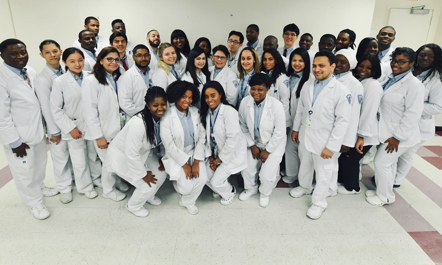 Medical imaging students