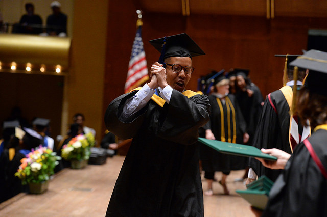 NYSCAS graduated 499 students at their Manhattan campuses commencement exercises at Lincoln Center on June 13, 2018.